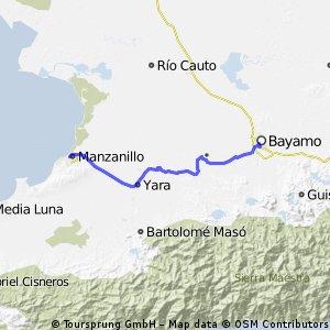 Bayamo > Manzanillo