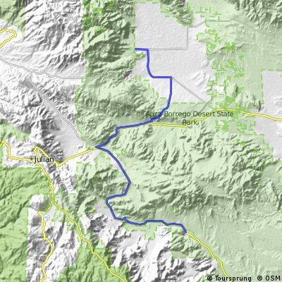 CTS 3 - Borrego Springs to Agua Caliente