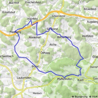 Tour 10 (Landkreis Amberg-Sulzbach)