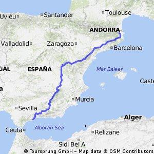 Girona-Malaga