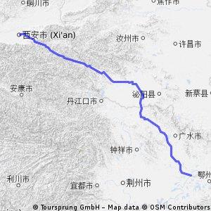 武漢 to 西安 2 (wuhan to si an)