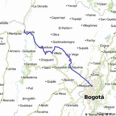 Bogotá-Honda
