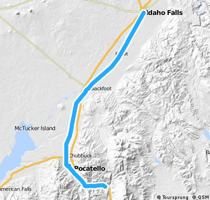 Cycle for Heart 2012, Inkom to Idaho Falls