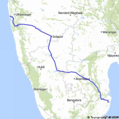 Mumbai - Chennai CLONED FROM ROUTE 784338