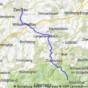 Breitenbrunn - Zwickau
