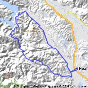 Healdsburg to Lake Sonoma