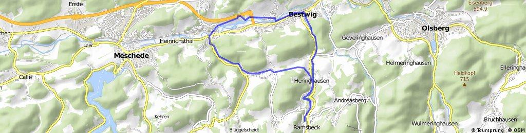 Bähnchenweg / Nierbachtal / Ruhrtal