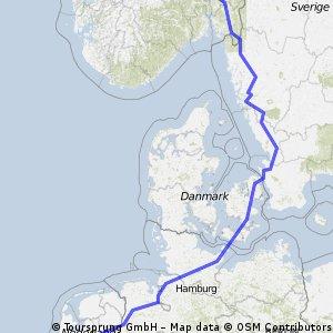Bouval (Belgium) -Cap Nord (North Cape, Norway) part 1