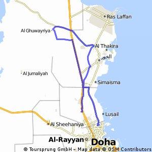 Tour of Qatar 2012 - Stage 1