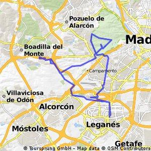 Leganés-Boadilla-Casa Campo