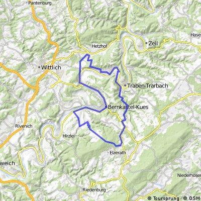 Route Berg- und Talfahrt Mosel/Hunsrück  2