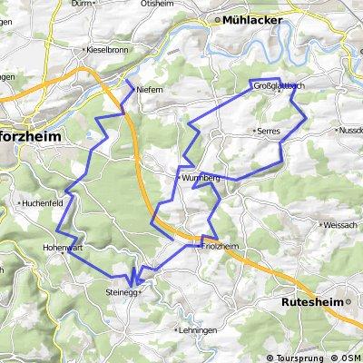 Cyclocross ab Niefern