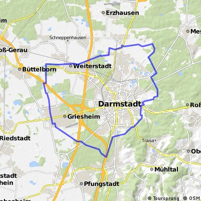 Rund um Darmstadt