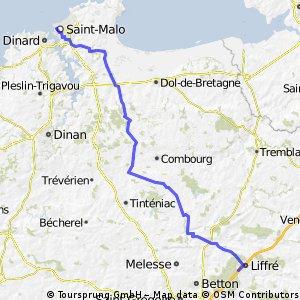 France One 2012 St Malo to La Quinte