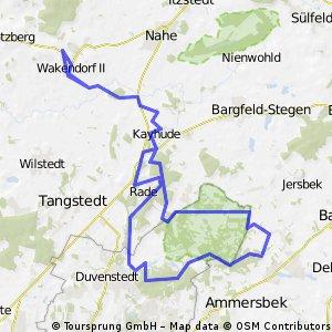 CTF - Kattendorf Struggle 2012 - 43 km