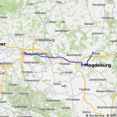 Braunschweig - Burg b. Magdeburg