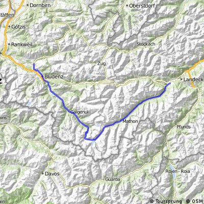 Etappe 2: Ludesch - Tobadill