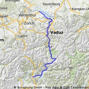 Alpenüberquerung Rennrad CLONED FROM ROUTE 51400