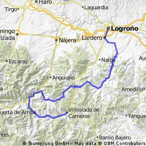 RUTA ESPECIAL LOGROÑO- 3 PUERTOS-VILLOSLADA