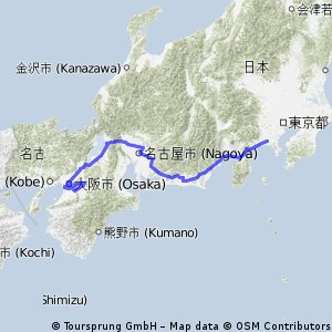 Kei×自転車世界一周 日本編(Kei's world bike trip,Japan)