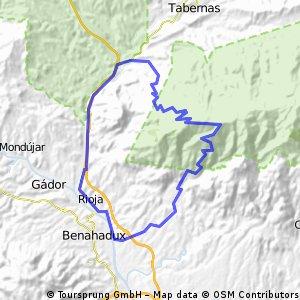 El Puntal-Baños Sierra Alhamilla CLONED FROM ROUTE 515091
