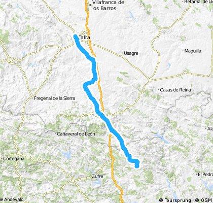 Via de la Plata (Almadén de la Plata-Zafra)