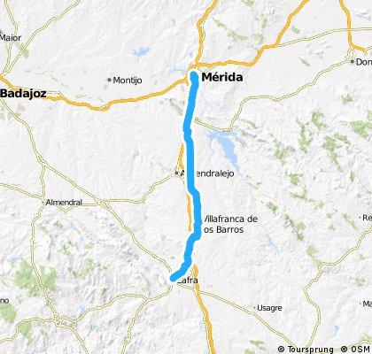 Via de la Plata (Zafra-Mérida)