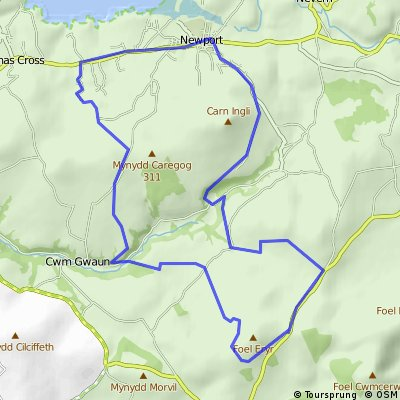Pembrokeshire Bikes Mountain Bike Route