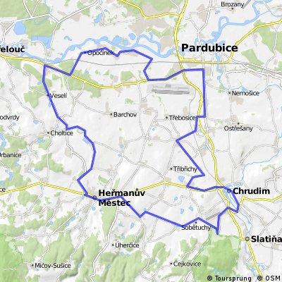 Bikemap.net-Hermanov Mestec- Pardubice-Valy-Hermanov Mestec.gpx