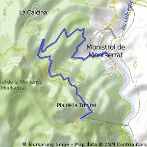 MONTSERRAT, por Monistrol de Montserrat
