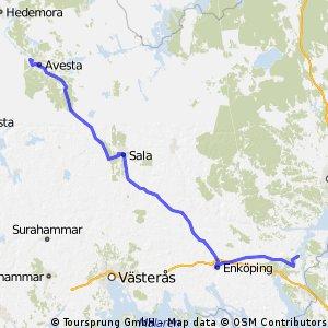 Day 2: Enköping - Avesta