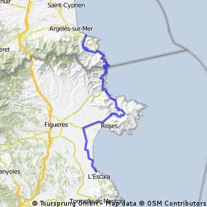 L'Escala - Tour de Madeloc - Collioure