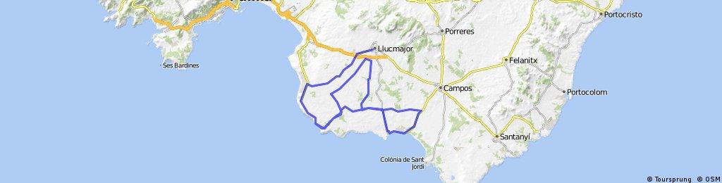 100km de Sa Marina de Llucmajor