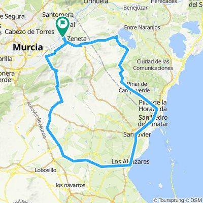 ruta por la costa mediterranea