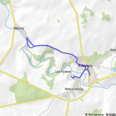 Ride samedi matin 11/02/2012