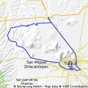 Cycling Routes And Bike Maps In And Around Toluca Bikemap Your - Toluca map