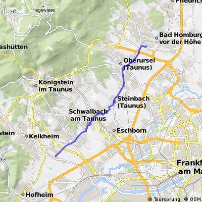 Liederbach - Bad Homburg