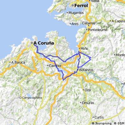 Coruña-Cecebre-Galibier-Coruña