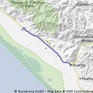 Mapastepec a Huixtla