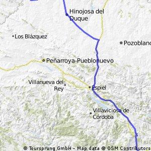 Cordoba - Monterrubio de la Serena Camino Mozarabe