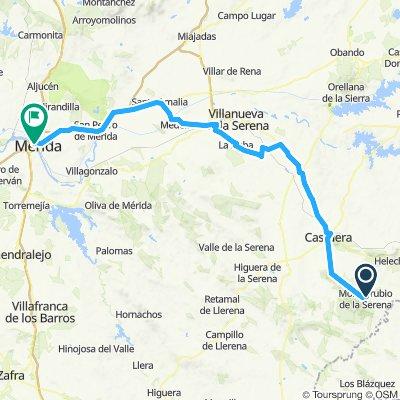 Monterrubio  - Merida Camino Mozarabe