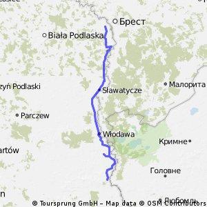 Dookoła Polski 24 dzień (Terespol- Wola Uhruska)