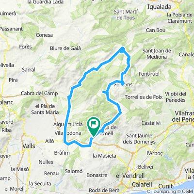 La Juncosa - Pontons