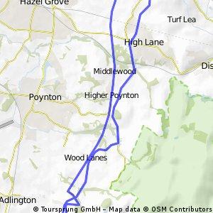 Middlewood Way/ Macclesfield Cnal