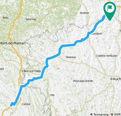 Etapp 4 Viven - Brimont