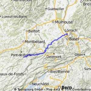 Teufelsradeln 2012 - Etappe 1 -