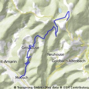 Bergzeitfahren RSG-Hellern, Trainingslager 2012
