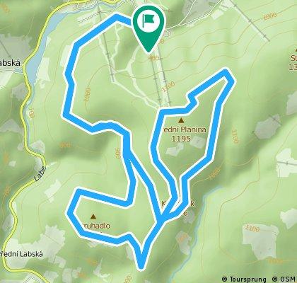 Krkonošská 70, 25 km
