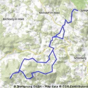 Beiwald-Büchelstein und zurrück