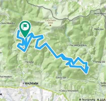 Krkonošská 70, 70 Km